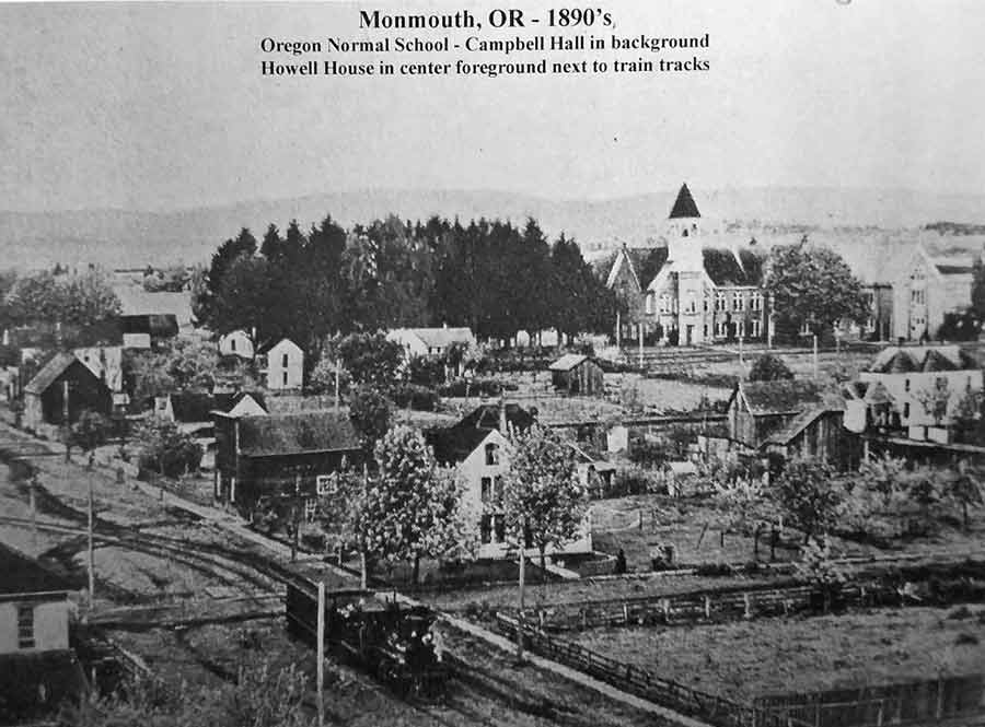 Historic photo of the Monmouth, OR area
