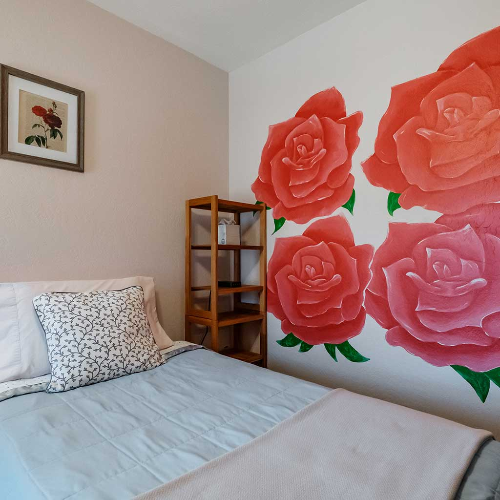 Rose Room at Mamere's B&B