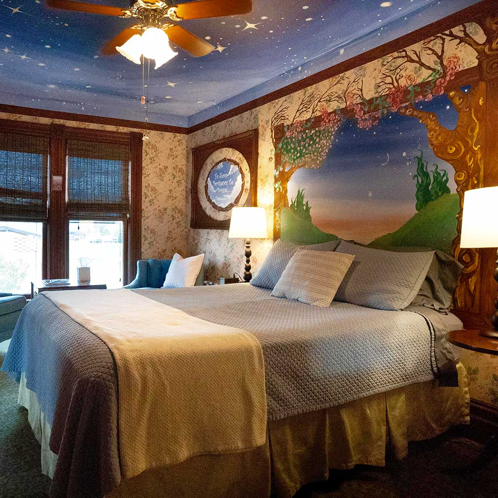 Starry Night Room at Mamere's B&B