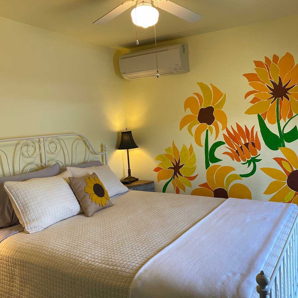Sunflower Room at Mamere's B&B