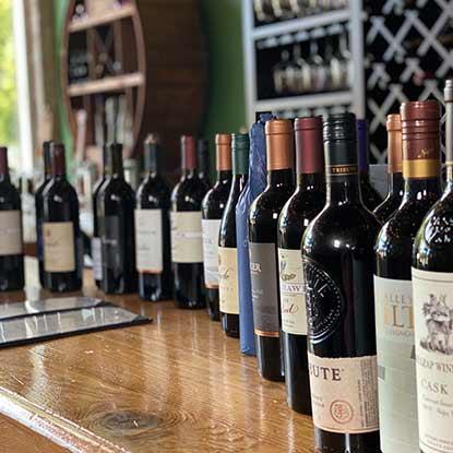 Oregon Winery, wines